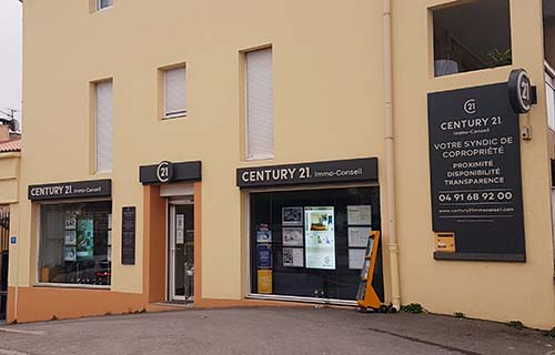 Agence immobilière CENTURY 21 Immo-Conseil, 13013 MARSEILLE